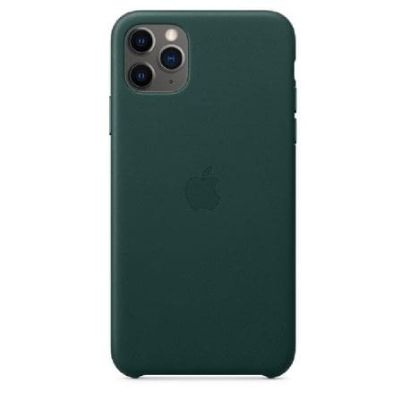 FUNDA APPLE IPHONE 11 PRO MAX LEATHER CASE - VERDE BOSQUE -