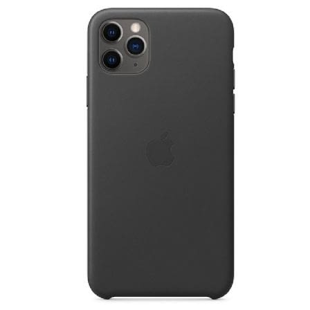 FUNDA APPLE IPHONE 11 PRO MAX LEATHER CASE - NEGRO -