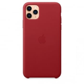 FUNDA APPLE IPHONE 11 PRO MAX LEATHER CASE -  PRODUCT RED - 2