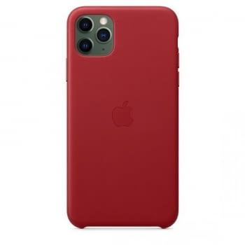 FUNDA APPLE IPHONE 11 PRO MAX LEATHER CASE -  PRODUCT RED - 3
