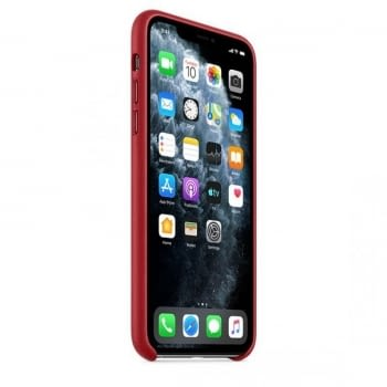 FUNDA APPLE IPHONE 11 PRO MAX LEATHER CASE -  PRODUCT RED - 5