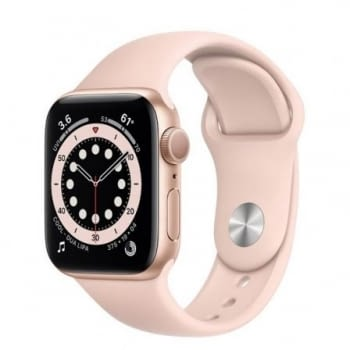 APPLE WATCH S6 40MM GPS CAJA ALUMINIO ORO CON CORREA ROSA ARENA SPORT BAND