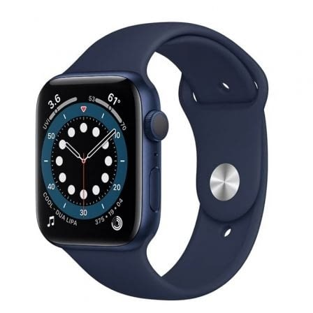 APPLE WATCH S6 40MM GPS CELLULAR CAJA ALUMINIO AZUL CON CORREA AZUL MARINO INTENSO SPORT BAND -
