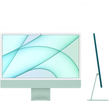 "Apple iMac 24"" Retina 4.5K/ Chip M1 CPU 8 Núcleos/ 8GB/ 256GB/ GPU 8 Núcleos - 3"