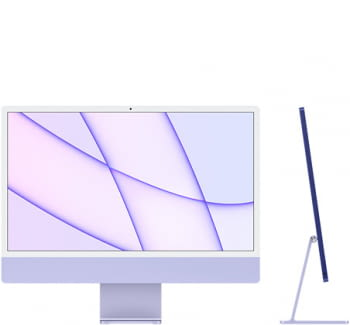 "Apple iMac 24"" Retina 4.5K/ Chip M1 CPU 8 Núcleos/ 8GB/ 256GB/ GPU 8 Núcleos - 6"