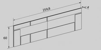 CABECERO CON LED + 2 MESITAS -RAM01 - 5