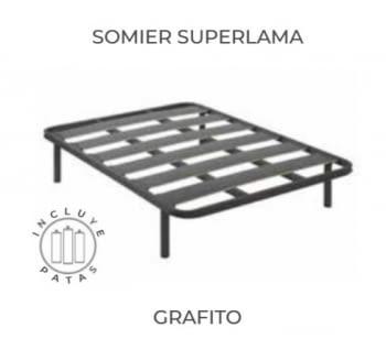 PACK COLCHON+SOMIER SUPERLAMA - 2