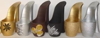 Zapato de cerámica