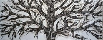"""Cuadro """"Ramas de árbol"""""""