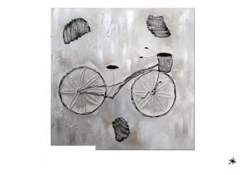"Cuadro "" bicyclette"""