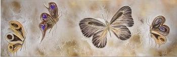 "Cuadro ""merveilleux papillons"""