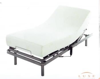 Pack somier articulado + colchón + almohada (90  x 190 / 180)