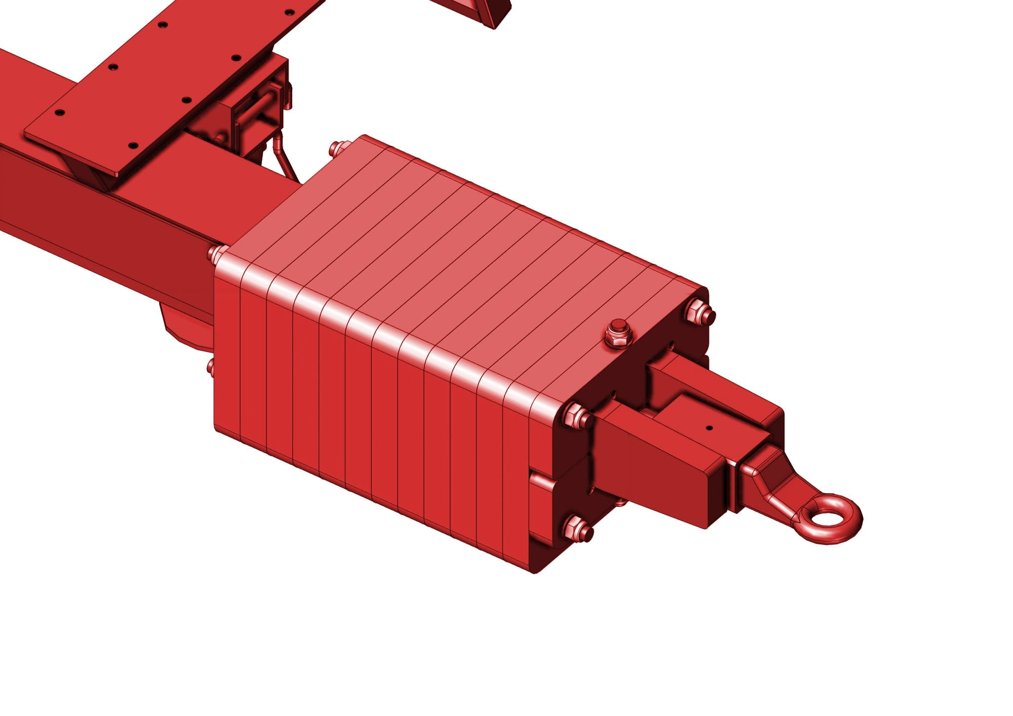 Counterweights kit 200 Kg