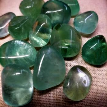 Fluorita verda