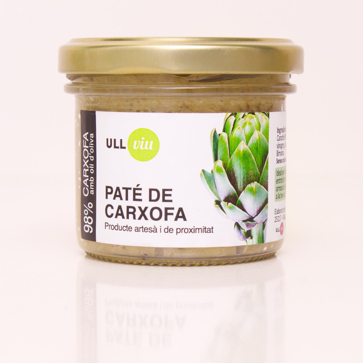 Paté de alcachofa 110 gr. -