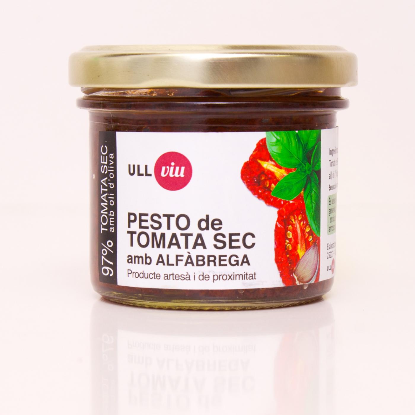 Pesto de tomate seco con albahaca 110 gr. -