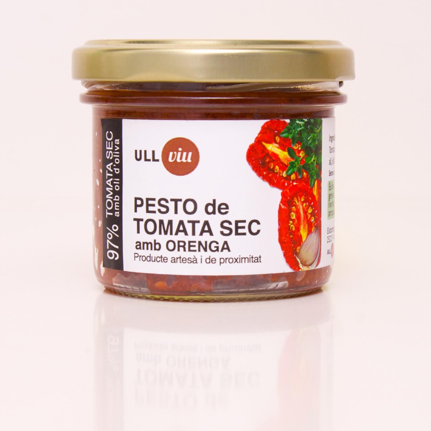 Pesto de tomata sec amb orenga 110 grams -