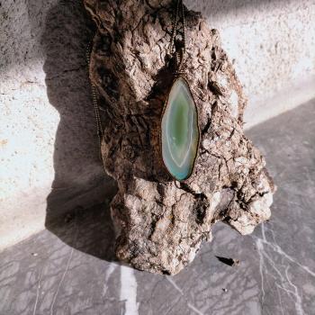 Penjoll d'àgata verda - 3