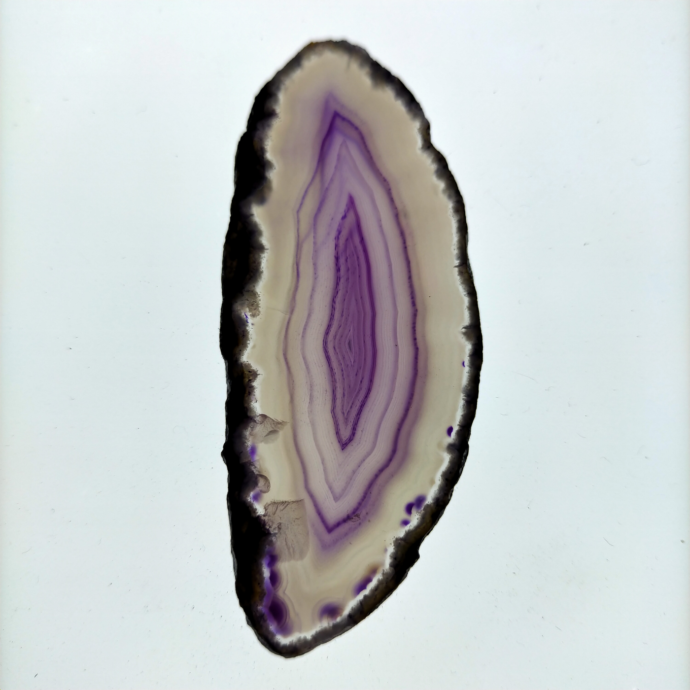 Àgata laminada lila transllúcida -