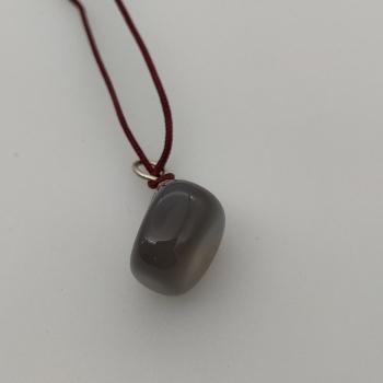 Penjoll d'àgata grisa - 2