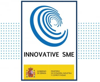 "We've been awarded with the ""INNOVATIVE SME"" stamp!"