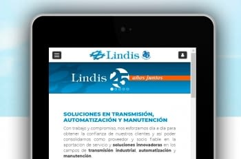 New corporative website www.lindis.com