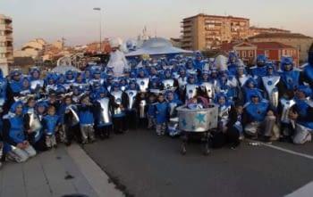 Fantàstica Comparsa de carnaval de la nostra escola.
