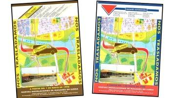 1998. Déménagement aux nouvelles installations de la Zone Industrielle de Lleida en raison de la formidable croissance et expansion de l'entreprise.