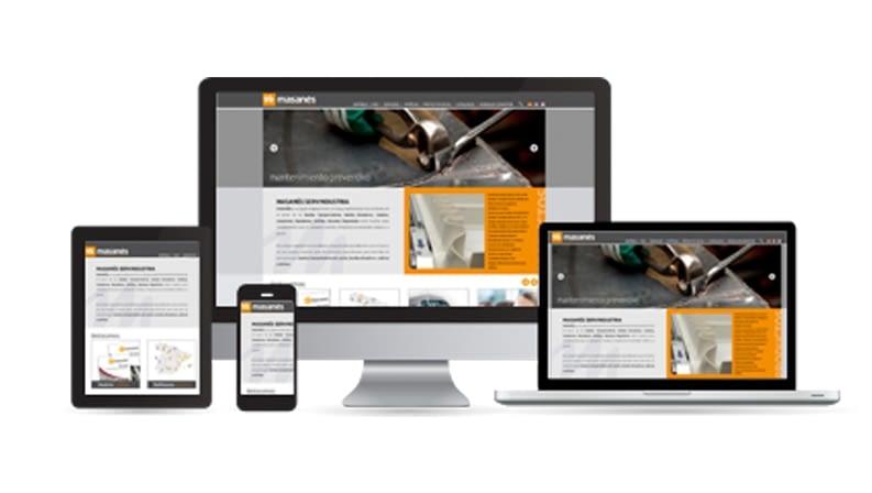 Masanés Servindustria launches website