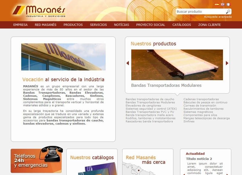Nouvelle publication sur le Web masanes.com