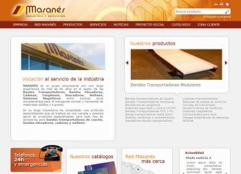 Publicación nuevo web masanes.com