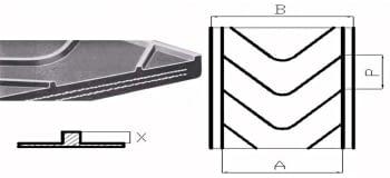 Refortbelt Nervada 16 Y EP400/3 3 - 1.5