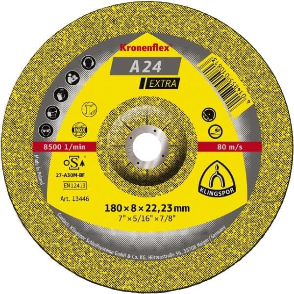 A 24 EX discos de desbaste -