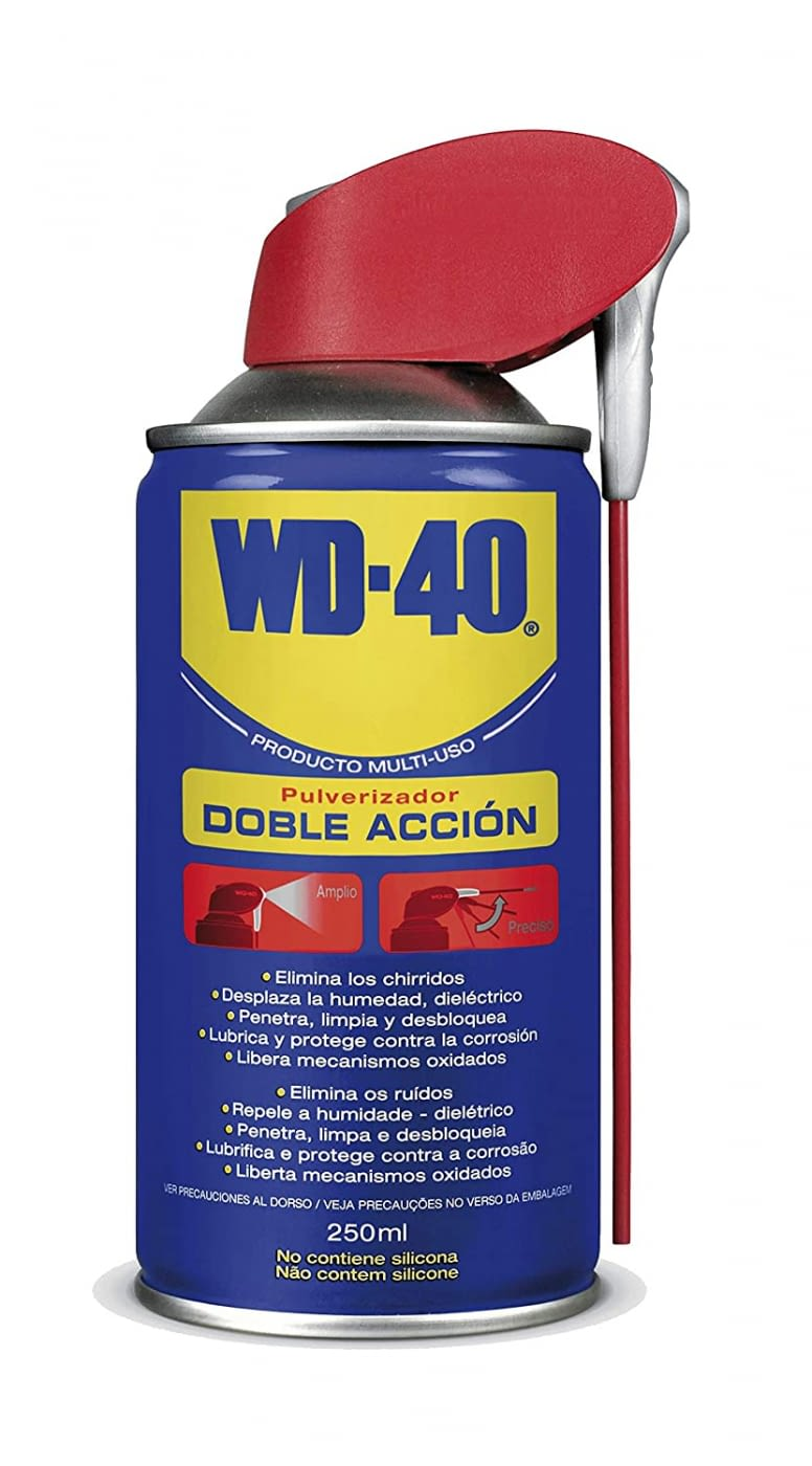 Oli lubricant polvoritzador doble acció -