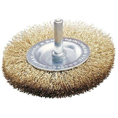 Cepillo disco d.60 C/Eje blister -