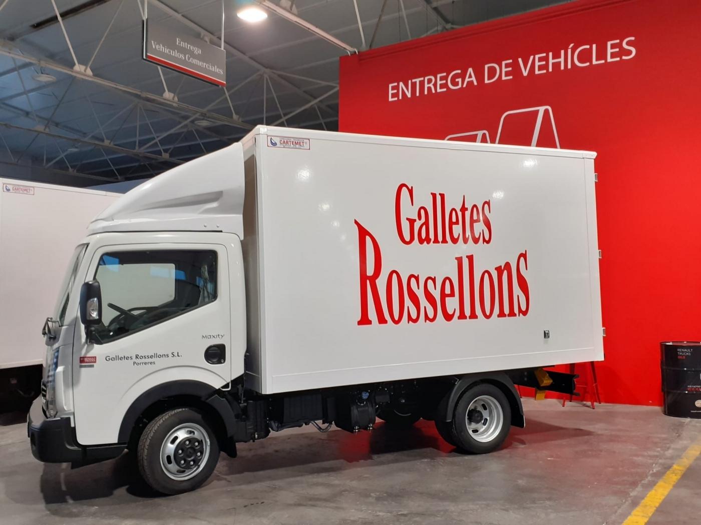ENTREGA RENAULT MAXITY 3T5 HD 130 / GALLETES ROSSELLONS S.L