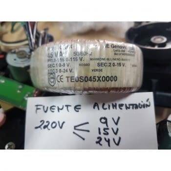 FUENTE ALIMENTACION 9V 15V 24V