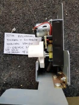 MOTOR RECUPERACION MONEDAS MAS SOPORTE G-DRINK SPENGLER ( SME SM-31COD.396030) - 1