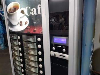 MAQUINA VENDING NECTA ASTRO DE CAFE EN GRANO VINILADA Y RESTAURADA - 5