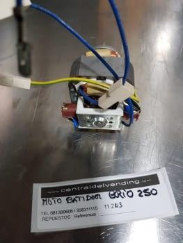 MOTOR BATIDOR NECTA BRIO 200