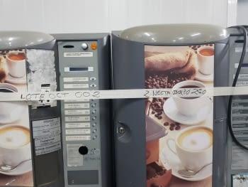 ¡¡LIQUIDACIÓN!! LOTE 2 MAQUINAS VENDING CAFE EN GRANO NECTA BRIO 250 (PROFESIONAL DEL VENDING) - 1