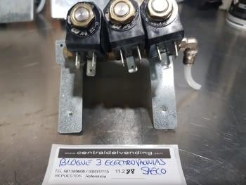 BLOQUE 3 ELECTROVALVULAS SAECO - 2
