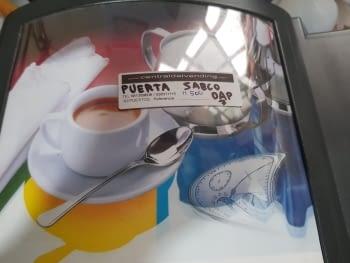 PUERTA CAFETERA SAECO DAP 7 - 1