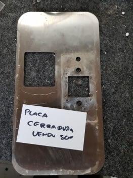 PLACA CERRADURA VENDO 800