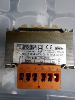 TRANSFORMADOR 220 V - 24 V - 22 V - 1