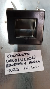 CONJUNTO DEVOLUCION MONEDAS MAS MARCO FAS SPIRALI