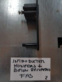 INTRODUCTOR MONEDAS MAS BOTON RECUPERACION FAS