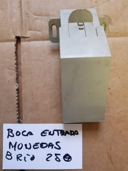 BOCA ENTRADA MONEDAS NECTA BRIO250