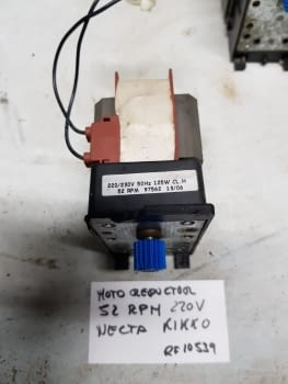 MOTOR REDUCTOR 52 RPM 220V NECTA KIKKO - 1