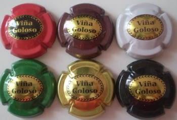 VIÑA GOLOSO JUEGO 6 PLACAS V. A210 A A215